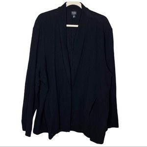 Eileen Fisher Woman Black Lightweight Jacket